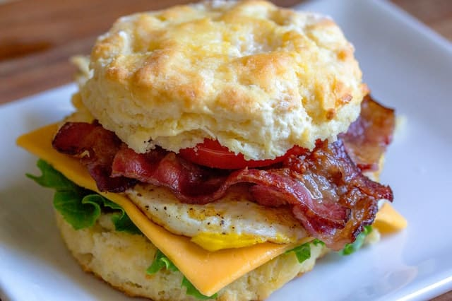 Keto Breakfast Sandwich | KetoGenius